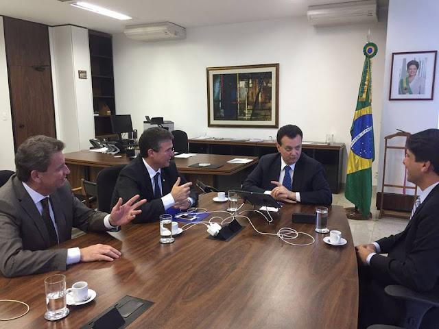 Pauluca Moura se reúne com Kassab em Brasília para apresentar Plano de Governo para Goiana