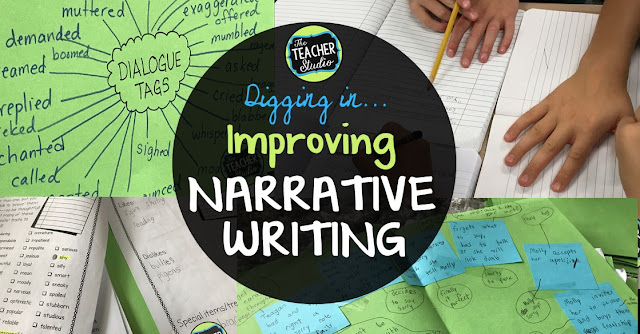 how to write dialogue in a narrative