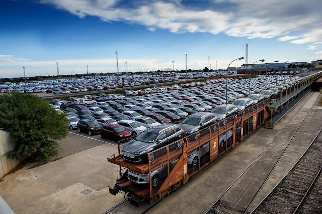 Ford-Almussafes-Exportación