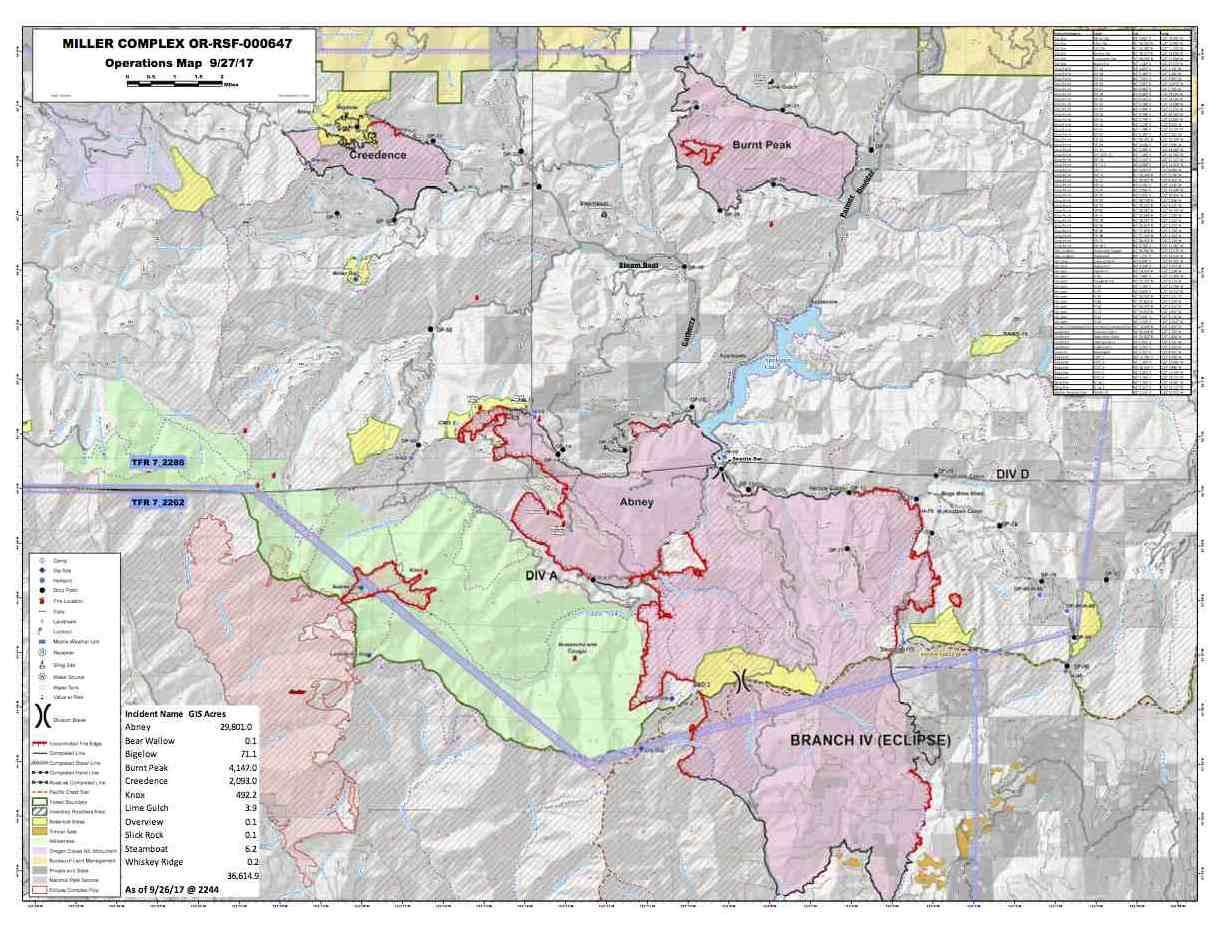 Southwest Oregon Joint Information Center Miller Complex