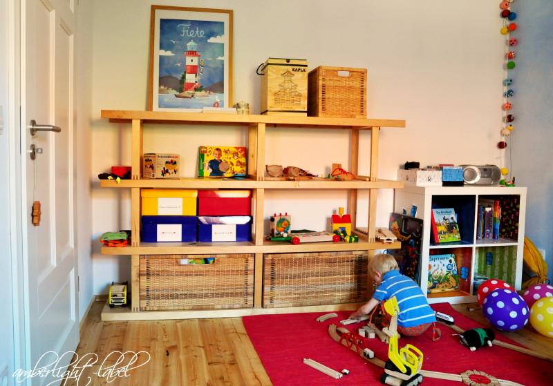 Spielzeug Verstauen Kinderzimmer minimalismus im kinderzimmer - amberlight-label