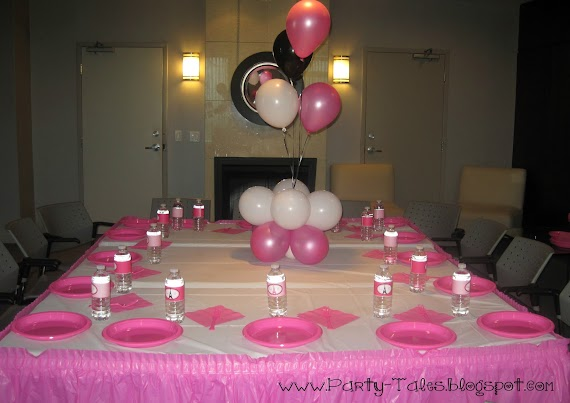 Lovely Pink And White Party Ideas