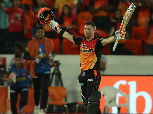 Ipl 2017, SRH vs KKR, warner