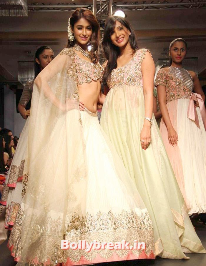 Ileana DCruz, Anushree Reddy, Ileana D'Cruz at Anushree Reddy Show - Lakme Fashion Week