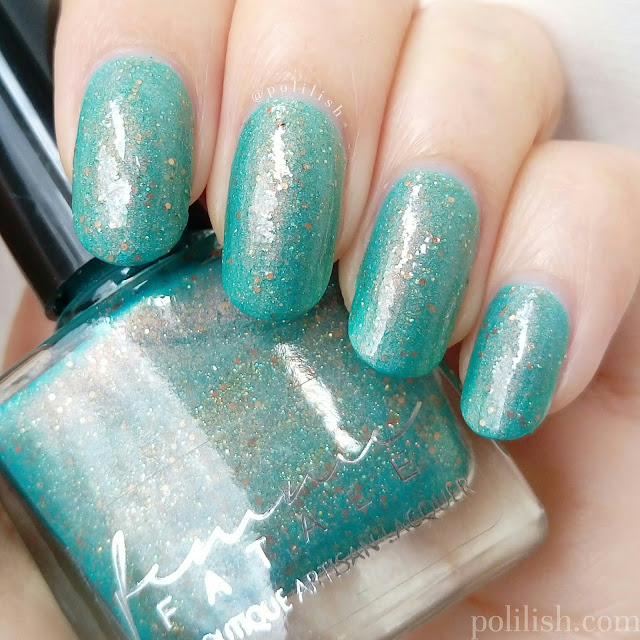 Femme Fatale Cosmetics 'A Fortune Teller's Charm' (cold), swatch by polilish