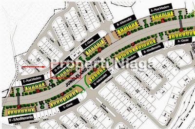 Siteplan-Ruko-Jungleland-Avenue