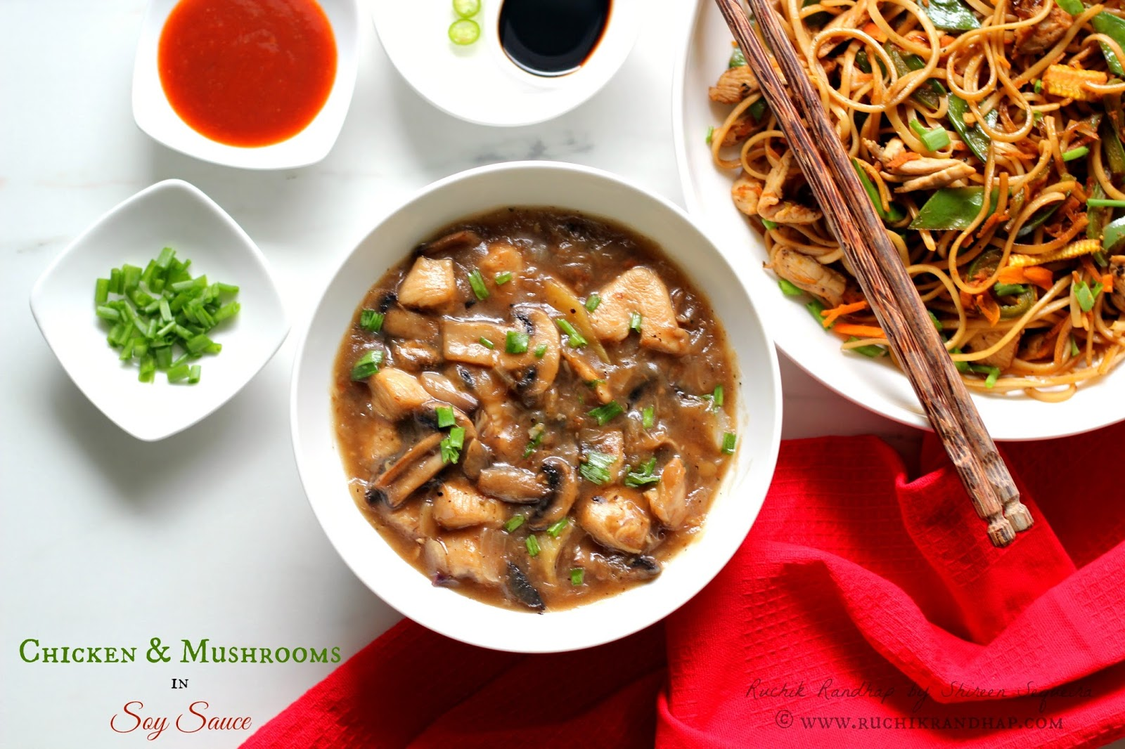 Chicken mushrooms in soy sauce ruchik randhap my dream of making chinese food that didnt flop came true over the weekend as i said in my previous post my son loves to bookmark recipes and our forumfinder Image collections