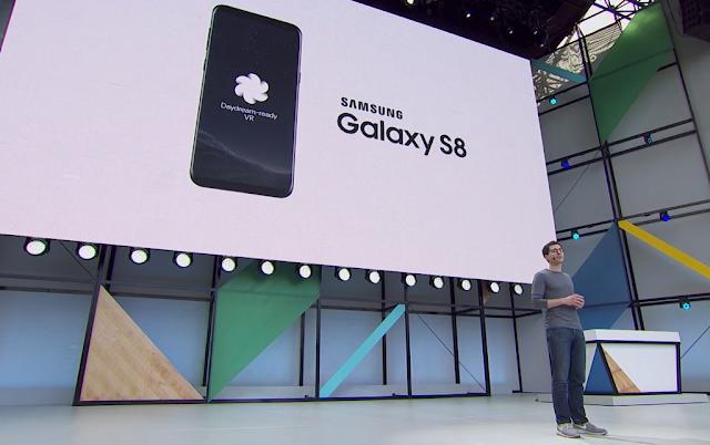 Daydream siap untuk Samsung Galaxy S8