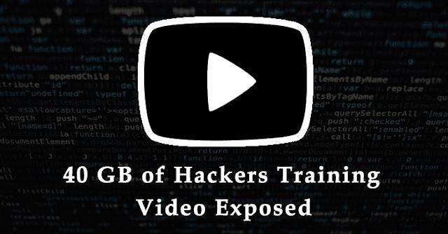 مجموعة التهديد الإيرانية تعرض 40 غيغابايت من ملفات الفيديو والبيانات التدريبية