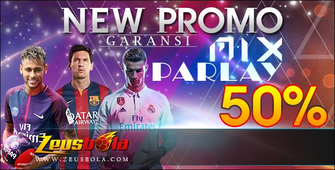 Promo Garansi Mix Parlay 50%