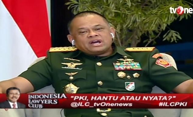 """Edan! """"Buzzer Istana"""" Terus 'Serang' Jenderal Gatot Nurmantyo Soal PKI"""