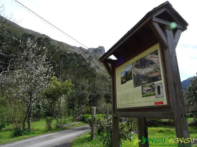 Sierra de la Cueva Negra: Santianes, Ribadesella