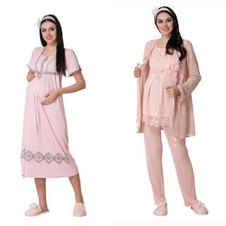 Hamile pijama takımları