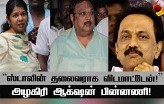 Stalin Vs Alagiri TN Politics