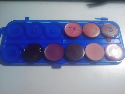 paleta de labiales casera