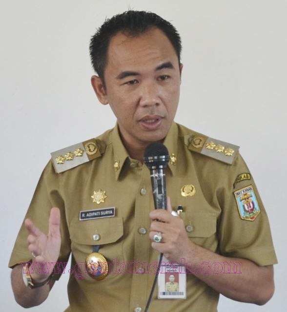 Adipati : Inspektorat Jangan Takut, Walau Terlapor Mengaku Keluarga Bupati