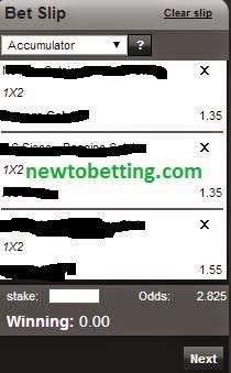 accumulation football betting strategy