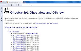 Scribus y Ghostscript