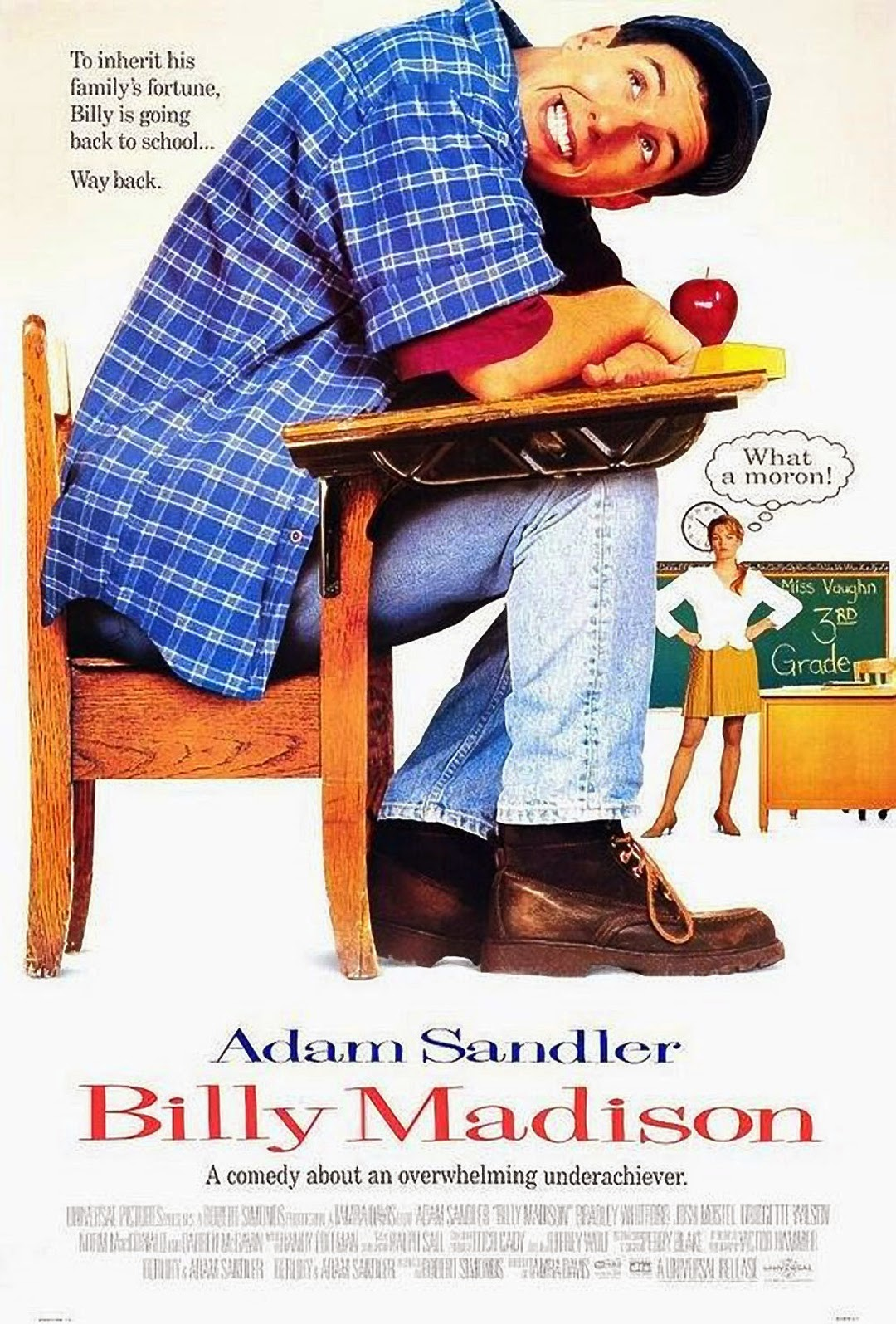 Billy Madison 1995 - Full (HD)