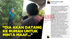 """Thumbnail image for """"Dia Akan Datang Ke Rumah Untuk Minta Maaf"""" – Isu Video 'Nak Duit Raya Tak'"""