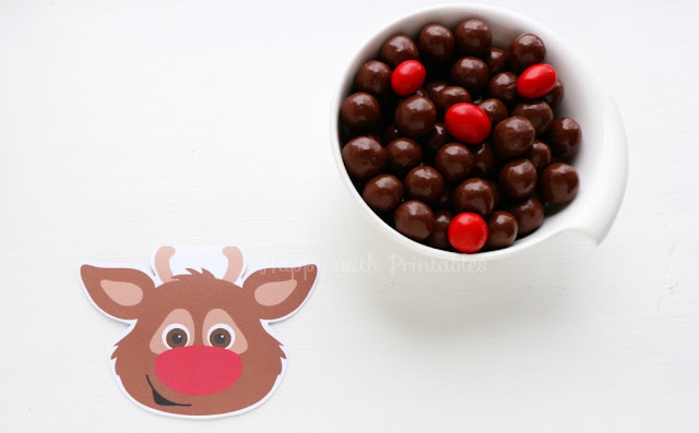 free rudolph printable treat bag label, free treat bag label christmas, free christmas printable, printable rudolph, rudolph the red nosed reindeer printable download for free, free printables