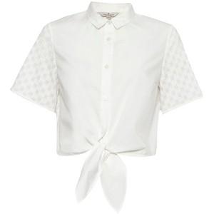 Geo flora cropped shirt, GBP 50 from French Connection
