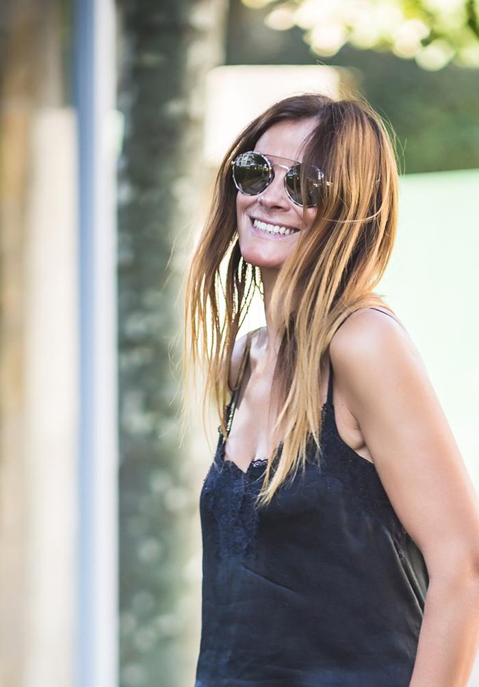 Tendencia , raya Lateral , pantalón , Es cuestion de estilo shop online, Lucía Díez .