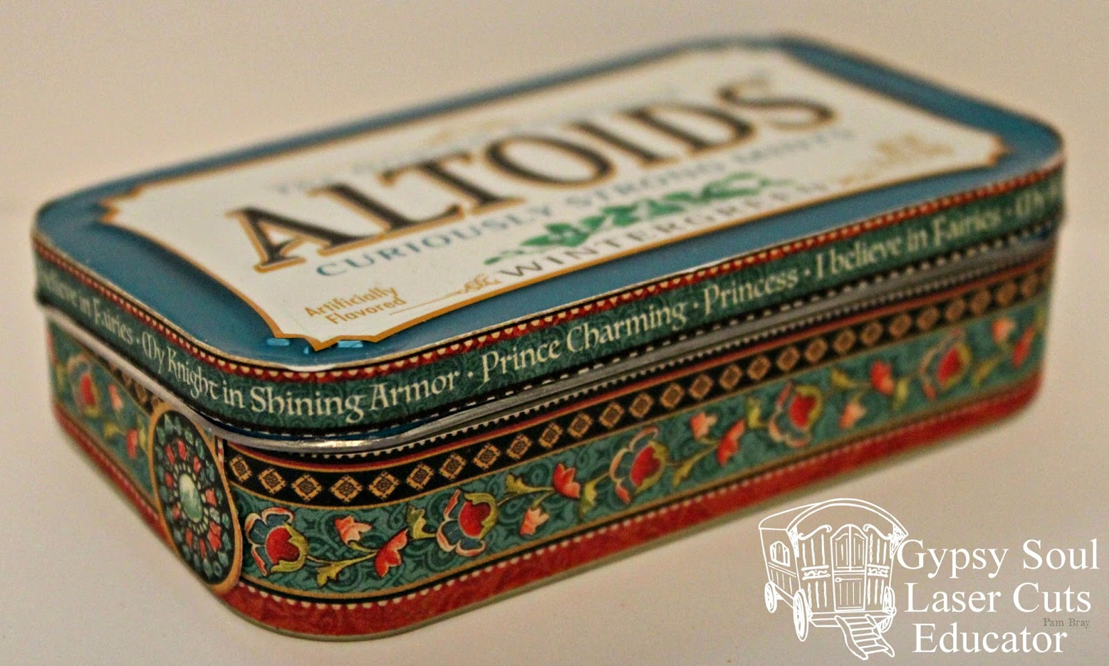 Pam Bray Designs A Girl With Flair How To Alter An Altoid Tin With