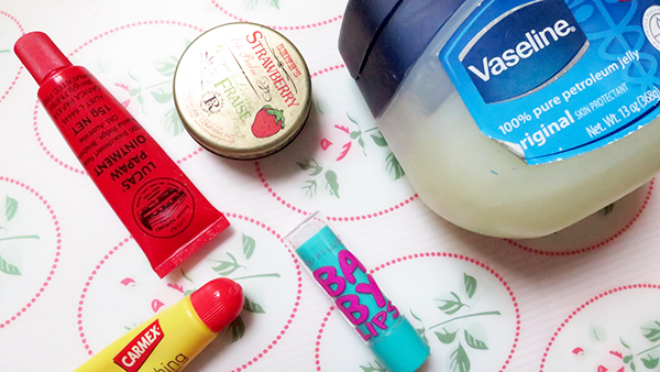 lip balms review vaseline lucas smith carmex maybelline baby lips
