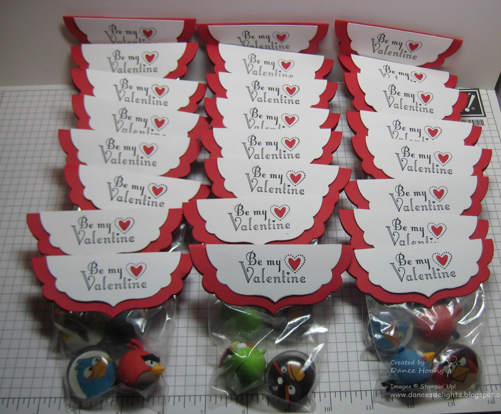 Danees Stampin Delights Angry Birds Magnets