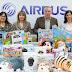 Airbus hace entrega de un lote de juguetes para los niños/as de Illescas