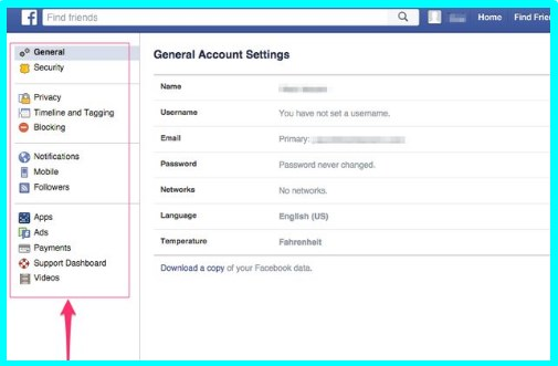how to change privacy settings on facebook profile