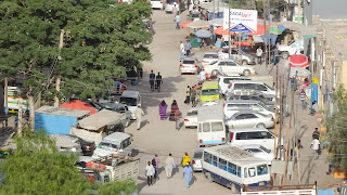 Hectic streets in Somaliland