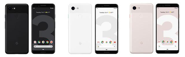 جوجل تعلن رسميا عن هاتفي Pixel 3 و Pixel 3 XL