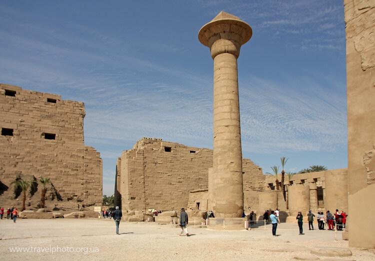 Луксор, разрушенный храм