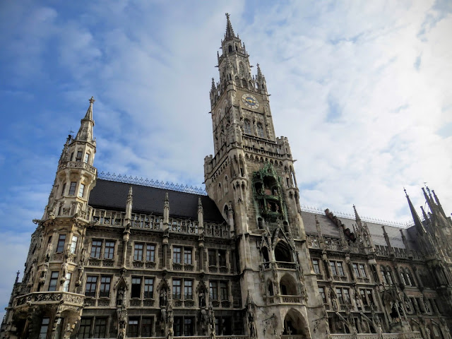 Business Trip to Munich - Rathaus on Marienplatz