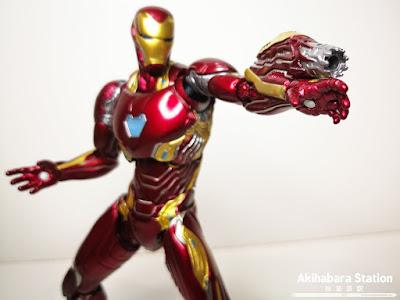 S.H.Figuarts Iron Man Mk 50 + Tamashii Stage de Avengers: Infinity War - Tamashii Nations