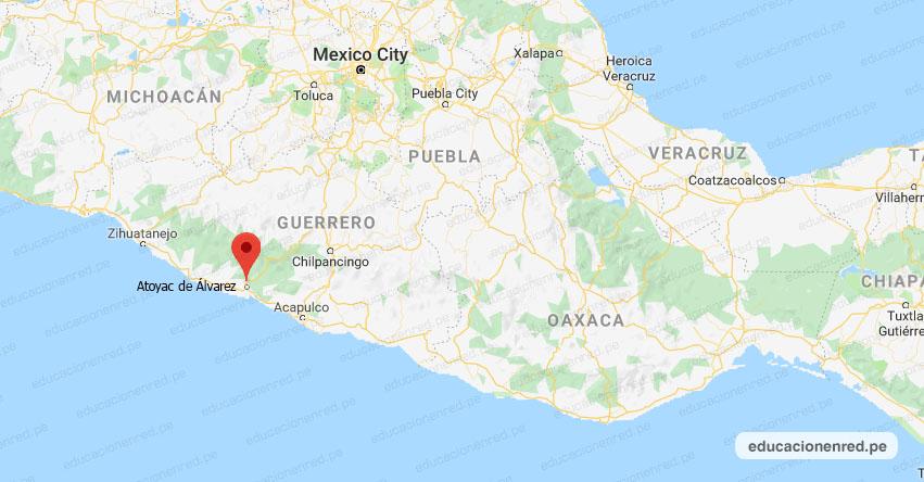 Temblor en México de Magnitud 4.0 (Hoy Lunes 24 Agosto 2020) Sismo - Epicentro - Atoyac de Álvarez - Guerrero - GRO. - SSN - www.ssn.unam.mx