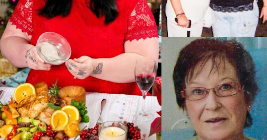 Daughter Plans To Eat Her Mum On Christmas Day By Adding Her Ashes On Her Food