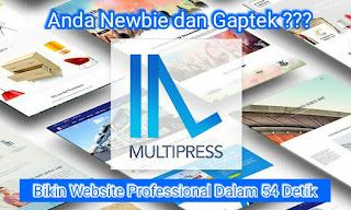 Bikin Website Professional Dalam 54 Detik