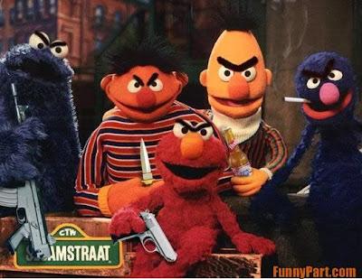 Evil Sesame Street