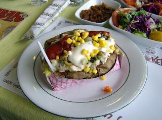 Stuffed Baked Potato (Kumpir)