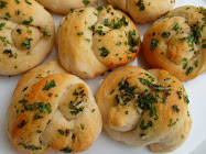 50¢ canned biscuit garlic knots