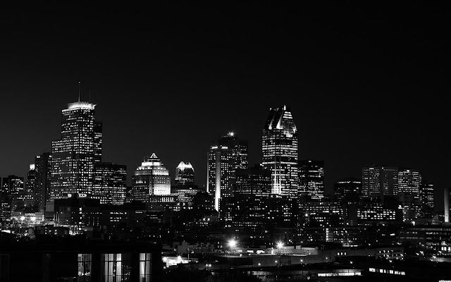 Night Skyline Wallpaper