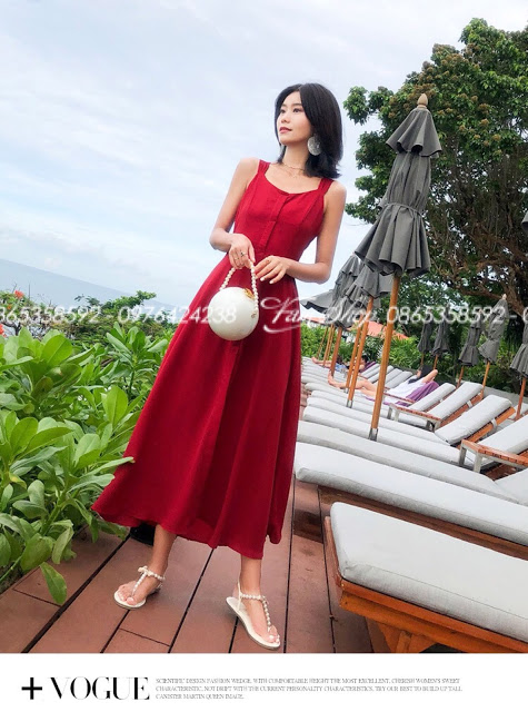 Shop ban vay maxi di bien o Nguyen Du