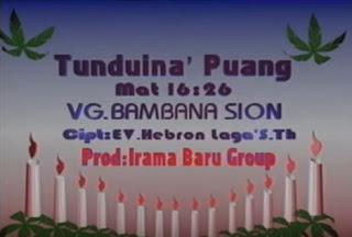 Download Lagu Tunduina' Puang (Daniel Tandirogang)