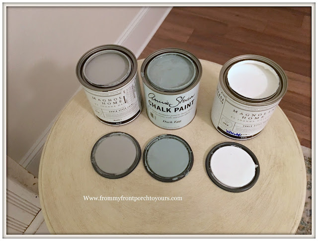 Vintage Fireplace Mantel Makeover-Review-Magnolia Home Chalk Style Paint-From My Front Porch To Yours