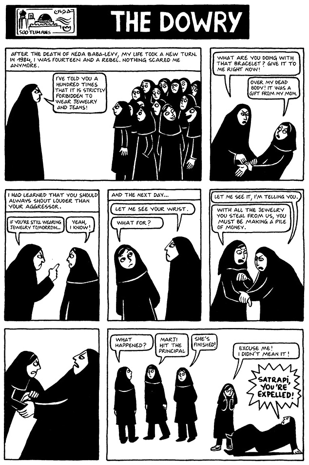 Read Persepolis 1 Section 19 The Dowry Page 141