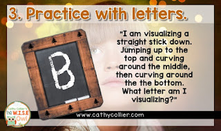 Teaching early readers to visualize can create lifelong readers. Follow these 6 steps and it will appear before your eyes. Can you see it?