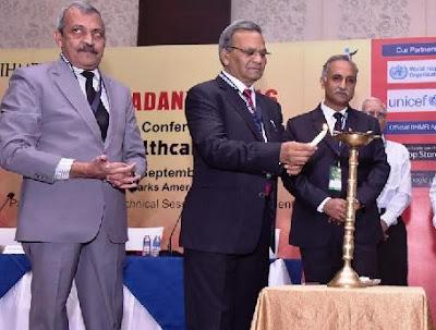 Jaipur, Healthcare Research Institutions, IIHMR University, Pradanya 2016, Dr. SD Gupta, Chairman IIHMR University, Dr. Vivek Bhandari, President of IIHMR University